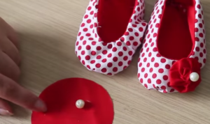 patrón gratis zapatos de bebé