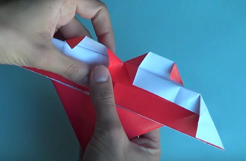 Sigue los pasos para que completes tu origami
