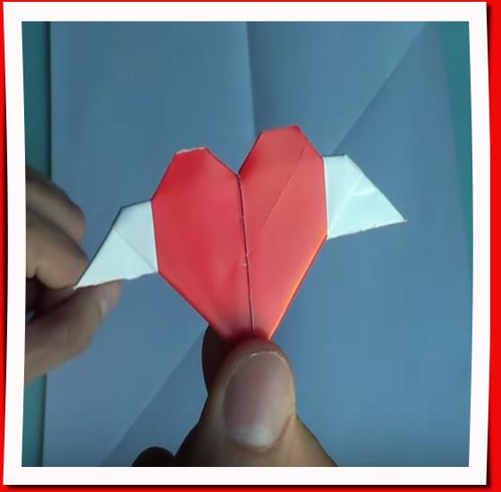 Origami corazón