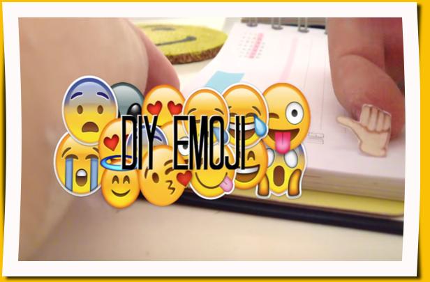 Patrones gratis para preparar decoraciones con emoji