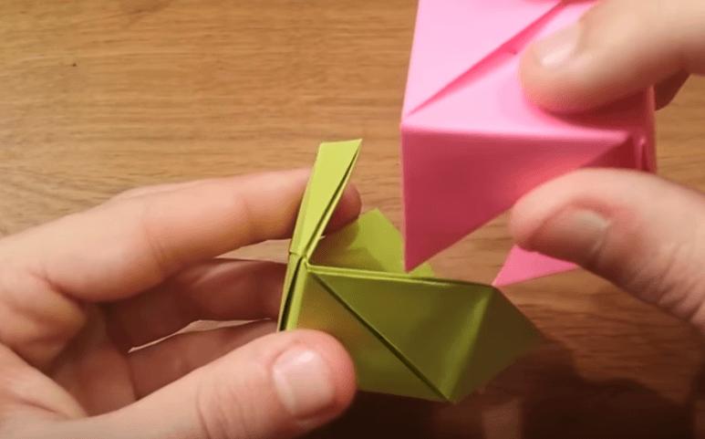 Origami Cubo Rosa Magico Guia Paso A Paso Hazlo Tu Misma
