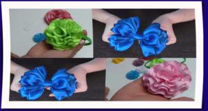 Flores de listón para todo propósito