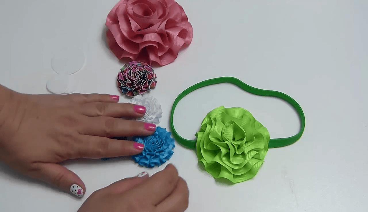 Flores de Listón: Patrones DIY para proyectos fabulosos
