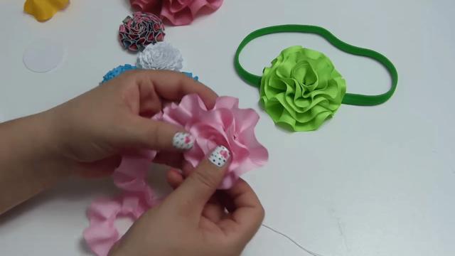 Adornos para vestidos con flores de listón